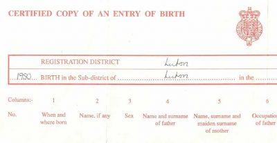 Certificat de naissance - Traduction juridique et assermentée